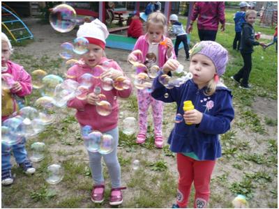 Развлечение «Шоу мыльных пузырей»
